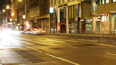 European City Timelapse 74 Stock Video Footage