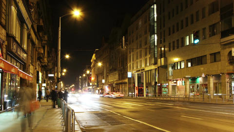 European City Timelapse 76 Stock Video Footage