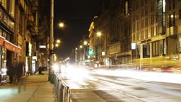 European City Timelapse 78 pan Stock Video Footage