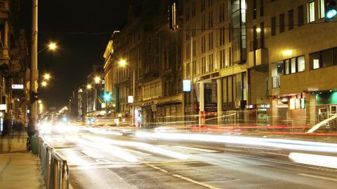 European City Timelapse 78 pan Footage
