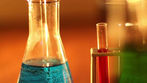 Laboratory CSI 13 dolly Stock Video Footage