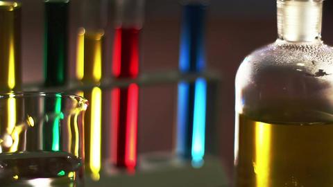 Laboratory CSI 17 dolly Stock Video Footage