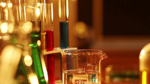 Laboratory CSI 19 dolly Stock Video Footage
