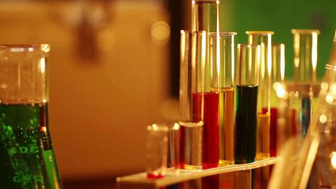 Laboratory CSI 21 dolly Stock Video Footage