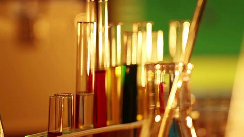 Laboratory CSI 23 dolly Footage