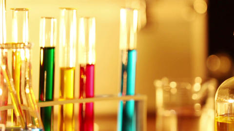Laboratory CSI 25 dolly Stock Video Footage