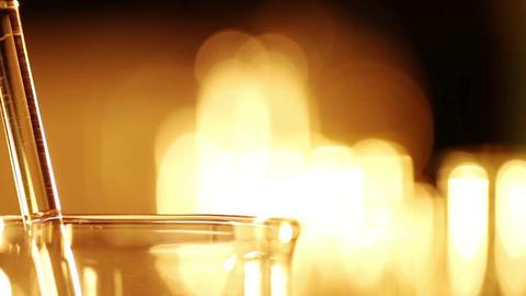 Laboratory CSI 31 dolly Stock Video Footage