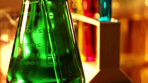 Laboratory CSI 37 dolly Stock Video Footage
