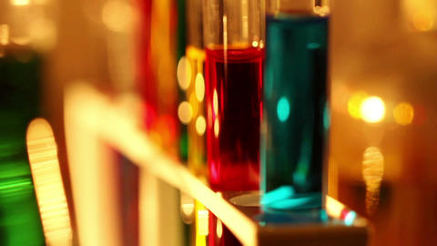 Laboratory CSI 39 dolly Stock Video Footage