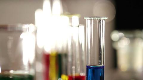 Laboratory CSI 43 focus change Footage