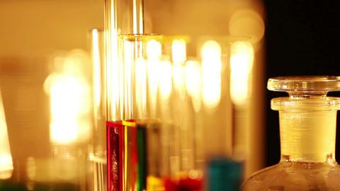 Laboratory CSI 45 focus change Stock Video Footage