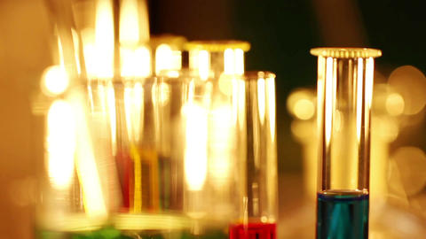Laboratory CSI 47 focus change Stock Video Footage