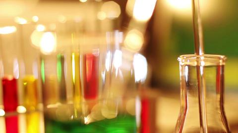 Laboratory CSI 53 dolly Stock Video Footage