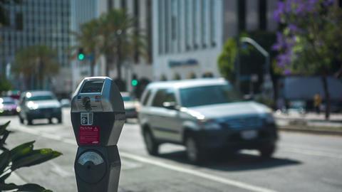 Wilshire Parking Meter Footage