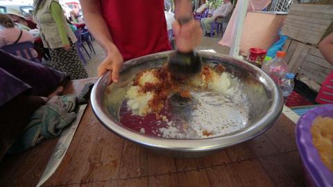 Traditional Slush Puppie stock footage