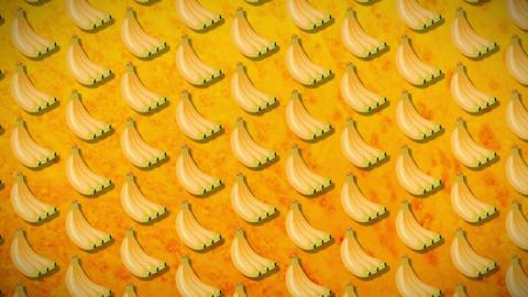 seamless pattern banan Animation