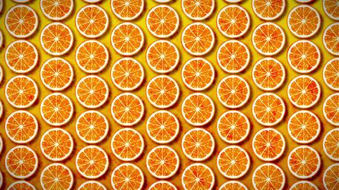 seamless pattern mandarin Animation