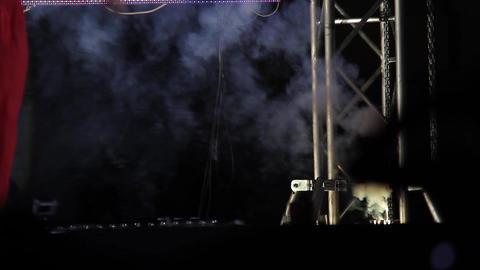 Fireworks on stage 01 Footage