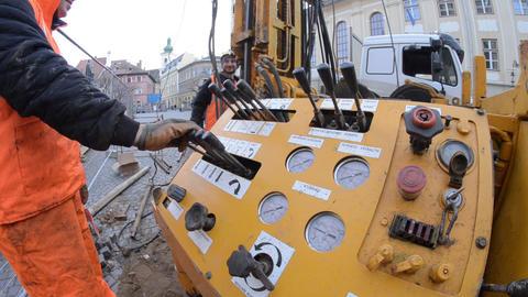 Drilling equipment 06b Footage