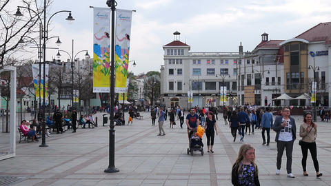 Sopot. Poland. 14 stock footage