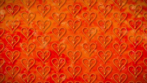 Wallpaper Heart, Loopable Motion Background, soft motion… Stock Video Footage