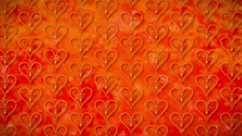 Wallpaper Heart, Loopable Motion Background, soft motion seamless pattern Heart Animation