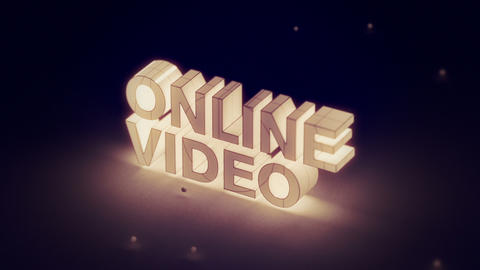 Online Video: Two Short Intro Animations stock footage