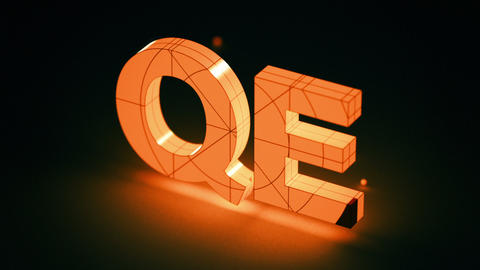 Quantitative Easing, QE, Monetary Policy, Financial Markets: Two Short Intro Vid stock footage