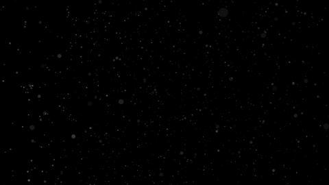 Dust particles dense defocused bokeh blur composite Animation