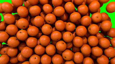 Oranges fill screen transition composite overlay element Animation