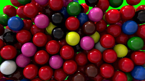 Snooker balls fill screen transition composite overlay Animation