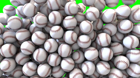 Baseball fill screen transition overlay composite Animation