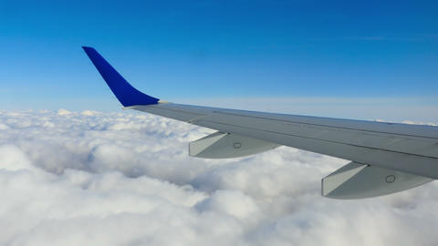 Aerial cloudscape Footage