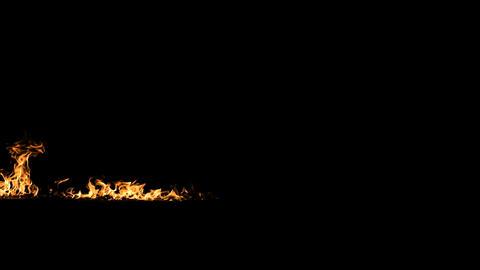 Fire Line Rise Alpha Footage