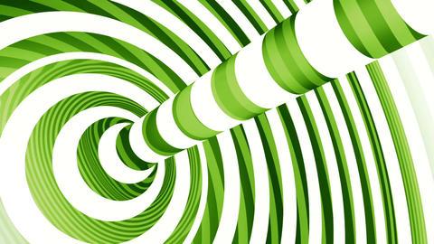 Colored Motion Torus. Loop Animation stock footage