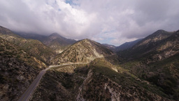 Angeles Crest Hwy stock footage