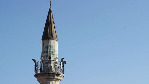 Minaret of a Mosque Footage