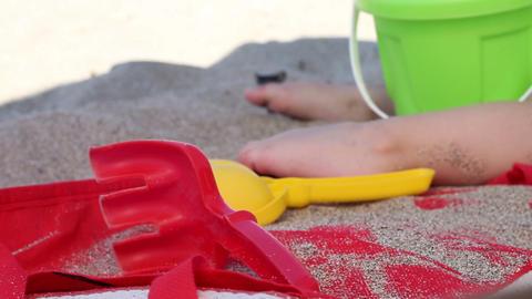 Beach Toys Footage