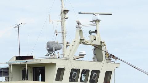 Command Bridge on Ship Live Action