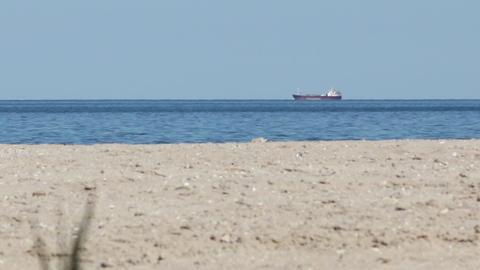 Ship Seen from Desert Island Footage