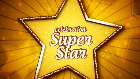 Celebration Super Star Promo After Effects Template