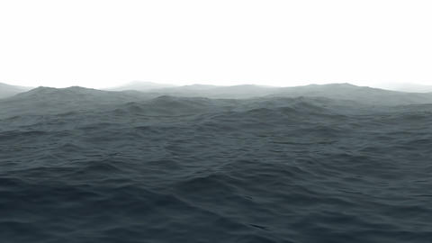 Ocean with fog Animation