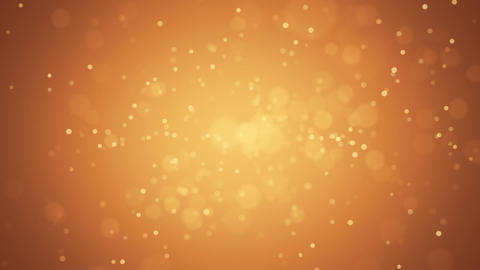 Particles colorful loop orange Animation