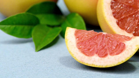 Ripe grapefruit Footage
