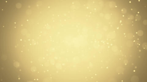 Particle Loop gold effect Animation