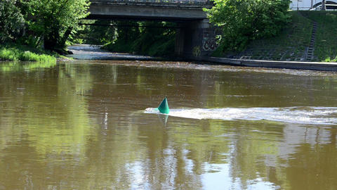 green buoy river neris Footage