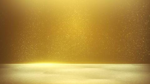 glitter dust on yellow background seamless loop Animation