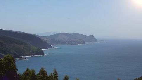 The San Juan de Gaztelugatxe. Basque Country, Spain Acción en vivo