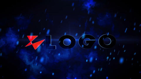 Exploding Logo After Effects Template