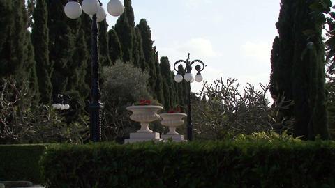 Bahai Gardens. Acre Footage